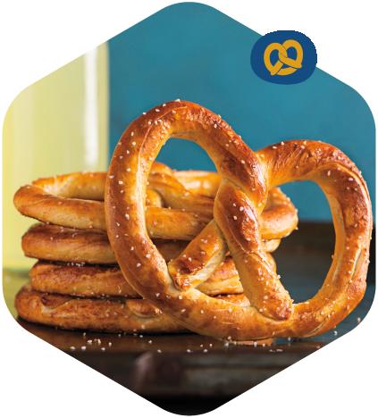 Classic pretzel package