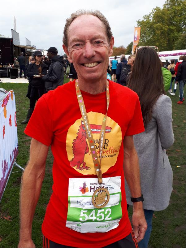 AA Roald Dahl charity Run